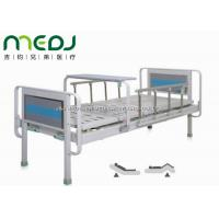 China Semi Fowler Manual Hospital Bed , MJSD06-03 Two Cranks Hospital Patient Bed wholesale