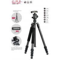 China carbon fiber Y-3425Z Anodized 4 Section Photographic tripod on sale