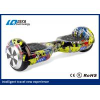 China 6.5 Inch Smart Balance Hoverboard 2 Wheel With Samsung Battery And Led Light wholesale