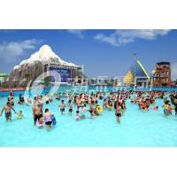 China Air Blower Water Park Wave Pool Construction Family Use Custom Size for Water Park on sale