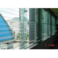 China rough grinding edge or polished edge Plate glass window / louver glass wholesale