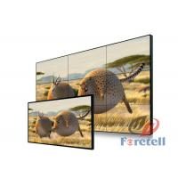 China Thin Bezel Monitor Multi Screen Video Wall 3x3 , Lg Large Format Display RS232 Remote Control on sale