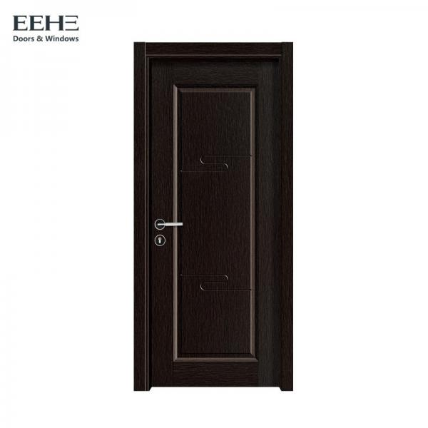 Quality Light Weight Solid Core Hardwood Doors / Sound Proof Wood Panel Interior Doors for sale