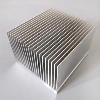 China T3 - T8 Aluminum Radiator Profile Aluminum Extrusion Heat Sink For Heat Exchanging on sale