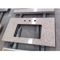China 22 X 36 Granite Vanity Tops 3 Faucet Holes Bathroom Vanity With Granite Countertop wholesale