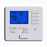 Buy cheap Heat Pump Menu Driven Programmable HVAC Thermostat , Air Conditioner Temperature Controller Room Thermostat from wholesalers