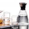 China Danish solo glass jug heat-resistant cold kettle large capacity creative juice pot tie pot glass kettle wholesale