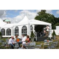 Buy cheap Transparent Soft Window Combined Shape Aluminum Framed Outdoor Party Tent from wholesalers