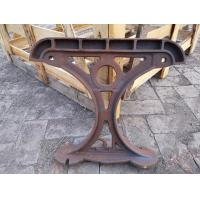 China OEM Cast Iron Patio Park Bench Legs Outdoor Furniture For Street wholesale