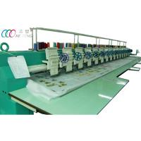 China 15 head single sequin computerized flat embroidery machine for clothing Robes wholesale
