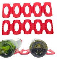 China Bottle Display Silicone Bar Accessories Insulated Beer Can Rubber Stacks wholesale
