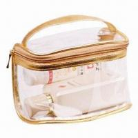 China Promotional Cosmetic Bag, Also Available in PVC Toilet Bag and Ladies Bag wholesale