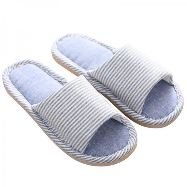 Quality Casual Winter Indoor Slippers , Cute Open Toe Warm Winter Home Slippers for sale