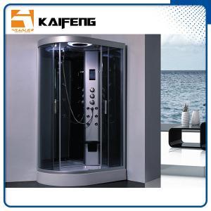 China Tempered Glass Jet Quadrant Shower Cabin , Large Corner Shower Enclosures on sale