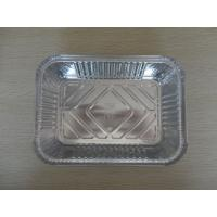 China Disposable Aluminum Foil Baking Pans / Loaf Pan For Food Storage And Cooking wholesale