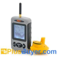 China Wireless Fish Finder with 2.8 Inch Display and Sonar Sensor wholesale