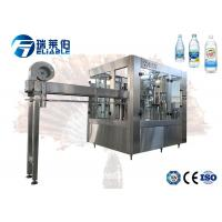 China SUS 304 PLC Control Automatic Carbonated Filling Machine For Plastic Bottle on sale