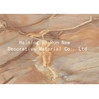China Marble Adhesive Vinyl Hot Stamping Foil Decorative Wall Film 20 - 126cm Width on sale