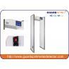 China La vente chaude 6 répartit en zones le détecteur de métaux de cadre de porte de sécurité avec l'indicateur de LED sur des les deux côté wholesale