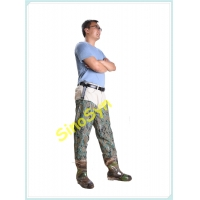 China FQT1905 Digital-Camouflage PVC Skidproof Underwater Outdoor Fishing Waders with Rain Boots wholesale