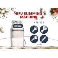 China Multifunction HIFU Slimming Machine / Cavitation Body Shaping Weight Loss Equipment wholesale
