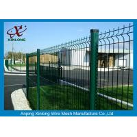 Buy cheap Galvanized Malla De Alambre Soldado Customised Height For Security from wholesalers