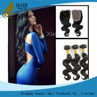 China Full Cuticle Unprocessed Malaysian Virgin Hair Extensions No Shedding 100g wholesale