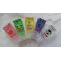 China Hand Sanitizer 29ml 30ml 1oz Personal Care Antibacteria silicone Pocket Hand Sanitizer gel with floral wholesale