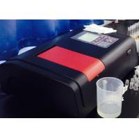 China Chroma double beam uv visible spectrophotometer Atmosphere high reliability wholesale