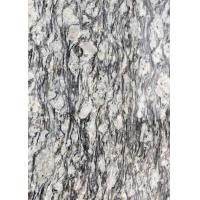China Polished Flamed Granite Stone Slabs Spray White Seawave Flower G708 Countertop wholesale