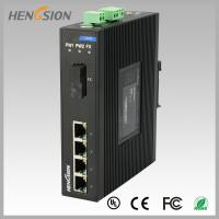 Buy cheap 1.2Mpps Fiber Optical Network Switch , Din Rail Installed Outdoor Ethernet Switch from wholesalers