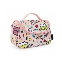 China Water Repellent Cartoon Design Oxford Travel Toiletry Bag wholesale