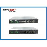 China 1U 19 Inch 8 Port GPON OLT Support Dual Power Supply With SNMP / WEB Management wholesale