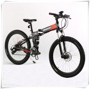 China 36V Folding Electric Bike 25 Km / H Max Speed Folding Electric Mountain Bike wholesale