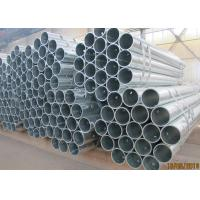 China Hot Rolled Galvanised Mild Steel Pipe 1.8 ~ 8mm Wall Thickness For Fence Post wholesale