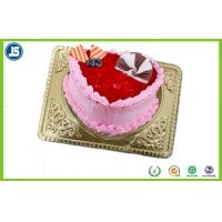 China Disposable Plastic Packaging , Plastic Biscuit Tray For Birthday Cakes wholesale