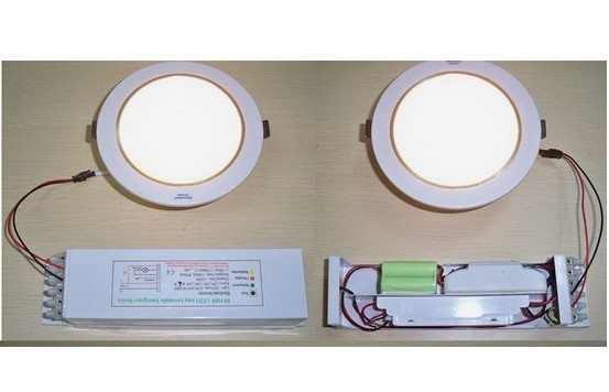 Quality SMD2835 18w round led rechargeable emergency light for home , hotel , office , hospital for sale