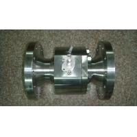 China Forged Steel Flanged End 2PC Ball Valve-Lever Op. wholesale