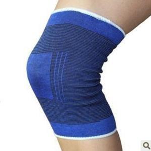 China Knee Support Brace Leg Arthritis Injury Gym Sleeve Elasticated Bandage Pad 2pcs/pair prtective kneepad wholesale