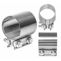 China Easy Installation Exhaust Band Clamp Stainless Steel Exhaust Pipe Clamps on sale