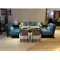China Durable Confortable Fabric 3 Piece Sectional Sofa , Grey Sectional Reclining Sofa Sets wholesale