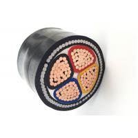 China 4 Core 185 Sqmm SWA Armoured Power Cable Copper Conductor XLPE/PVC Insulated Steel Wire Armored Cable on sale