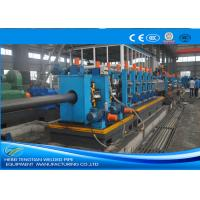 China Heavy Duty ERW Pipe Mill Machine Worm Gearing Rectangular 165 * 6mm Pipe Size on sale