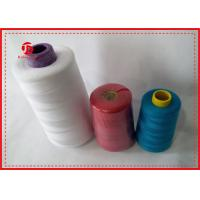 China 100% Polyester High Tenacity Sewing Thread 40/2 Polyester Spun Yarn For Dyeing wholesale
