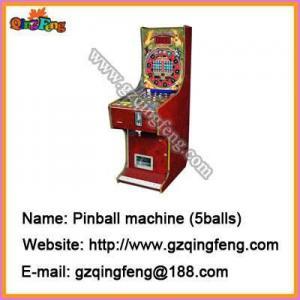 China pinball machines seek QingFeng as your manufacturer wholesale