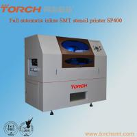 China Automatic LED stencil printer SP400 / Inline stencil pritner SP400/led online printer wholesale