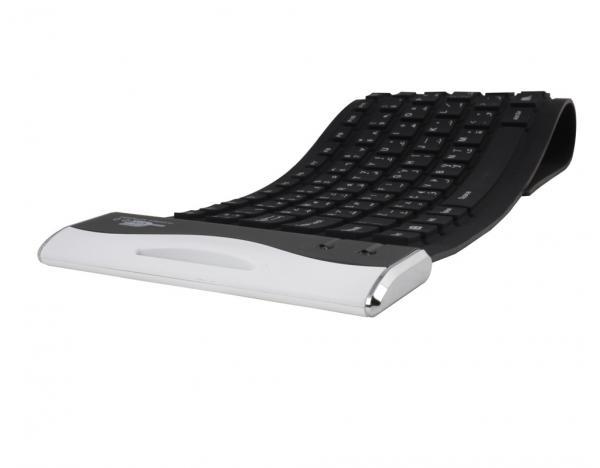 Quality roll up  Mini ultra-thin wireless flexible igo kensington keyfolio  bluetooth keyboard for ipad 2 3 4 for sale