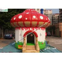 China Indoor / Outdoor Kids Mushroom Inflatable Bounce Houses Commercial wholesale