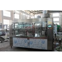 China 8000BPH Big Capacity Juice Bottling Machine Glass And Plastic Bottle Filling And Packing wholesale