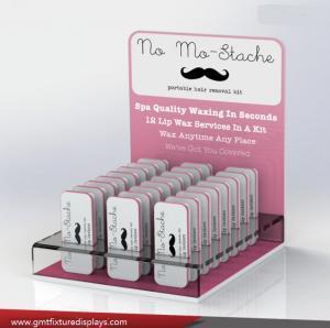 China Counter Eyelash Display Stands & Eyelash Table Top Display & Makeup Counter Display Stands wholesale